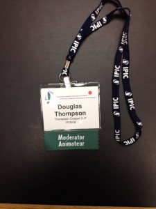 Convention name tag